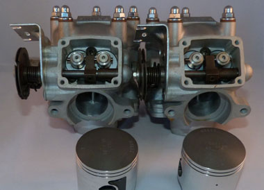 The Tuning Works - RS250 Cylinders with Wiseco Pistons